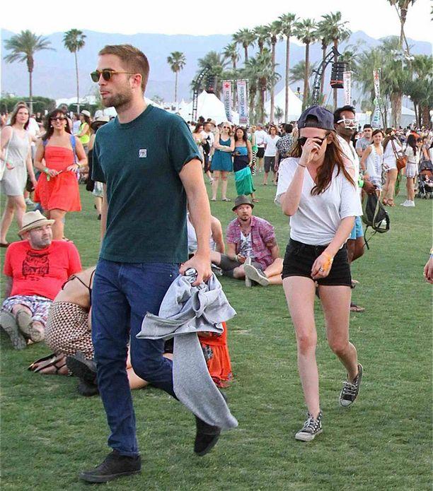 Robert Pattinson ja Kristen Stewart.