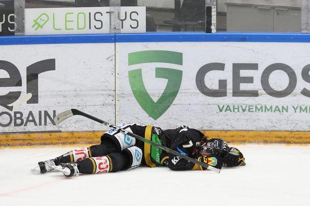 Topi Niemelä satutti itsensä tiistaina.