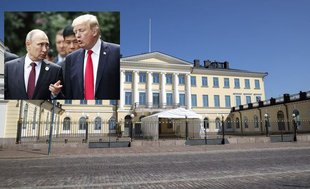 Donald Trump ja Vladimir Putin tapaavat maanantaina Helsingissä.