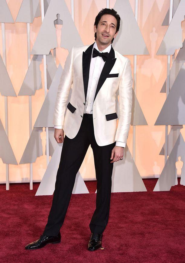 Oscar-voittaja Adrien Brody.