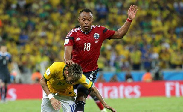 Juan Zuniga on saanut Neymarin telomisesta vihat niskaansa.