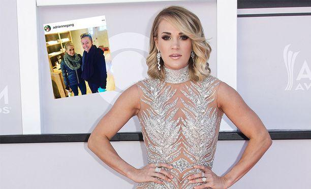 Carrie Underwoodin kasvo-onnettomuus on herättänyt kysymyksiä.