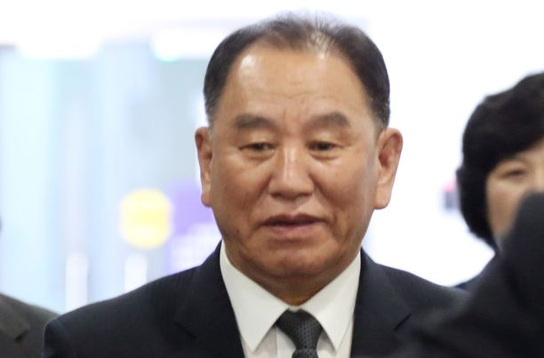 Pohjois-Korean edustaja Kim Yong-chol on Yhdysvalloissa tapaamassa valtionjohtoa. Kuvassa Kim Yong-chol kesäkuussa 2018.