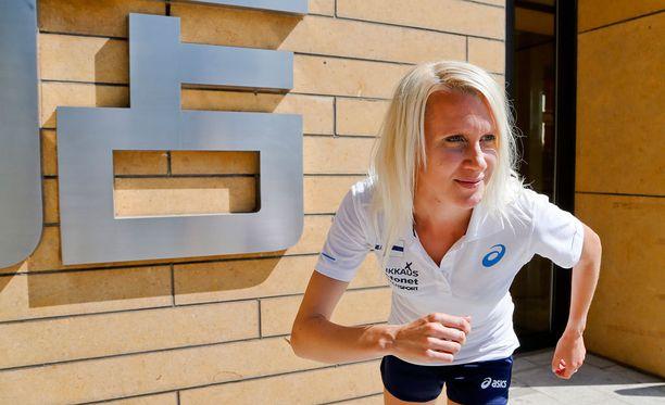 Sandra Eriksson on toipunut alkukauden pilanneesta nilkkavammasta.