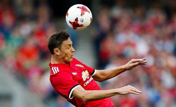 Nemanja Matic pelaa Unitedissa numero 31 selässään.