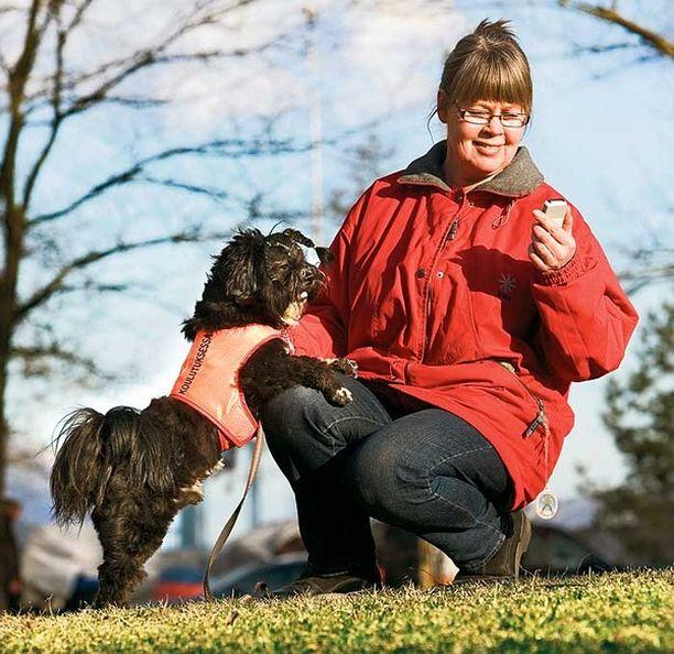 Asko on Tuulia Sundgrenin kouluttama kuulokoirakokelas, joka osaa valmistuttuaan ilmoittaa omistajalleen erilaisten äänien kuulumiset ja niiden lähteet.