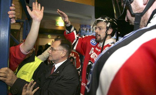 Matt Nickerson villitsi Porissa kaudella 2005-06.