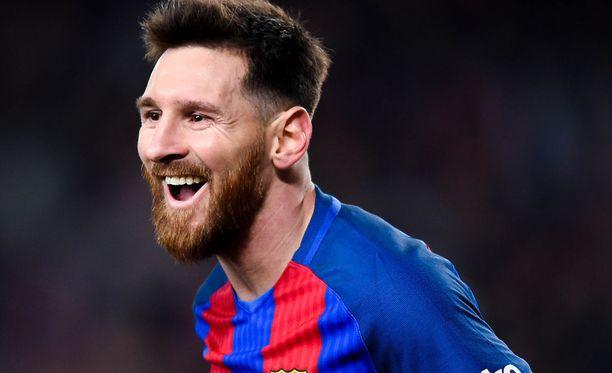 Leo Messi teki eilen paikallispelissä näyttävän soolon.