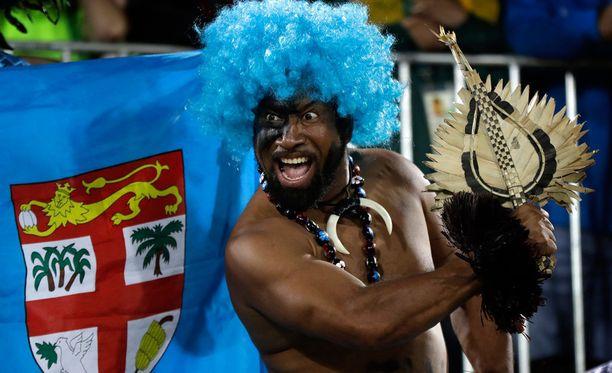 Fidzin fanit menivät täysin sekaisin olympiakullasta.