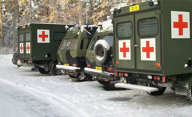 Tapaus sattui puolustusvoimien suurharjoituksen leirisairaalassa. Kuvituskuva.