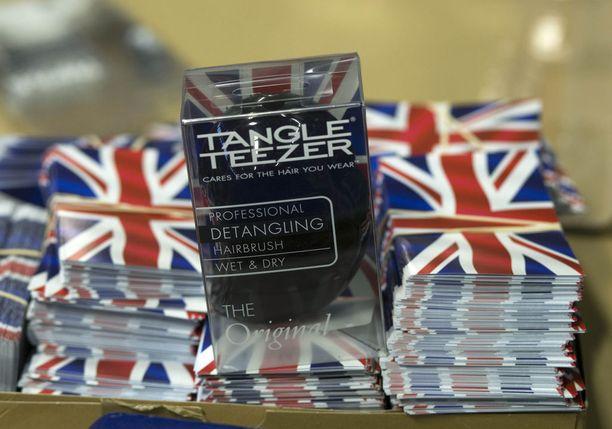 Tangle Teezer -hiusharjat ovat tuttuja myös suomalaisille.