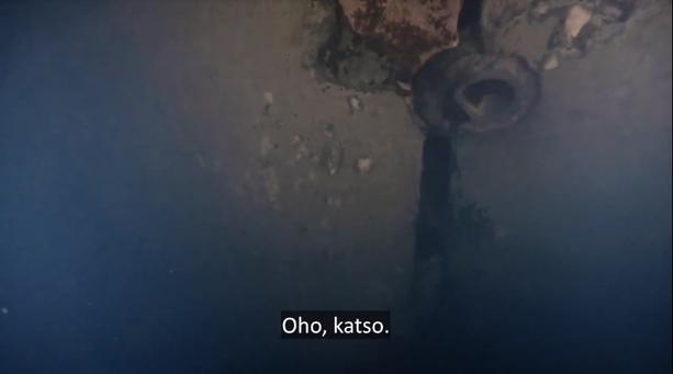 Sukeltajien hämmästyneet reaktiot tallentuivat Dplay-dokumentaristien videolle.