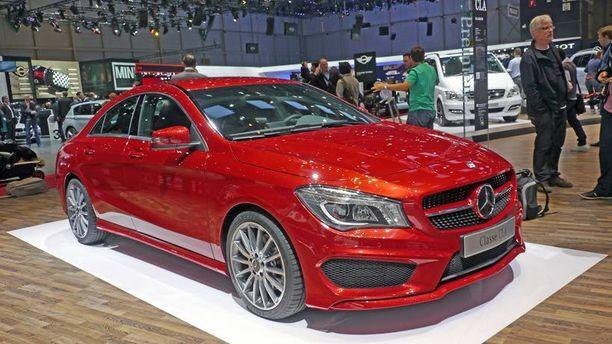 Mercedes CLA sai pyyhkeitä USA:ssa.