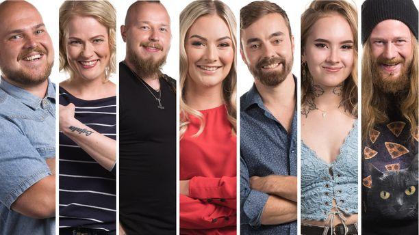 Big Brotherissa ovat mukana vielä Joel, Paula, Arttu, Julia, Vili, Kristiina ja Olli-Pekka.