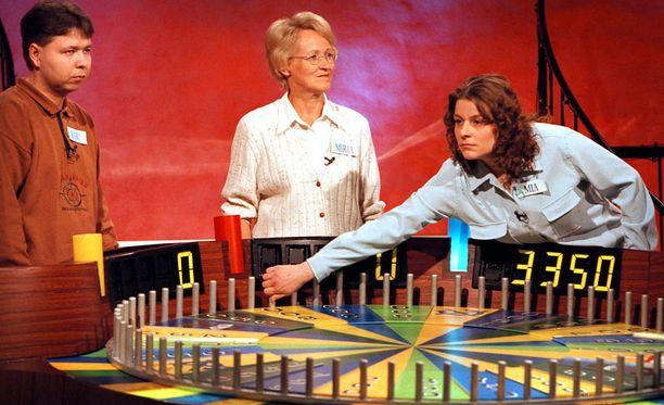 Onnenpyörä oli 1990-luvun suosikkiohjelma.