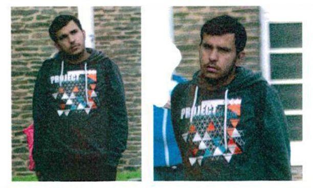 Missä hän on? Saksan poliisi etsii kuumeisesti syyrialaista Jaber Albakria, jota epäillään terrori-iskun valmistelusta.