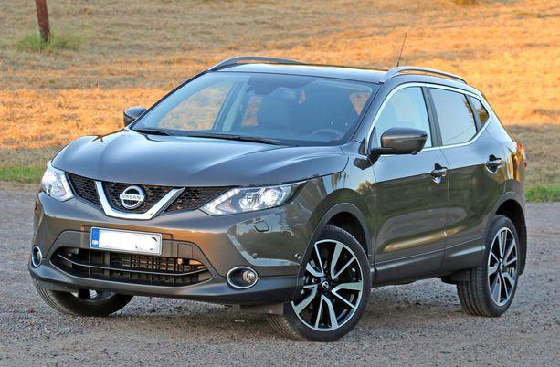 Nissan Qashqai on vahva Baltiassa.