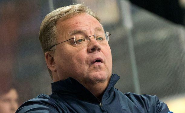 Hannu Jortikka piiskaa Pikkuleijonia kohti MM-kultaa.