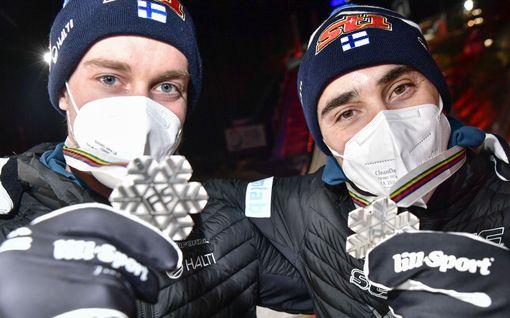 Suomi triplasi mitalisaldonsa Oberstdorfissa – tilasto osoittaa: huippuvuosiin silti pitkä matka