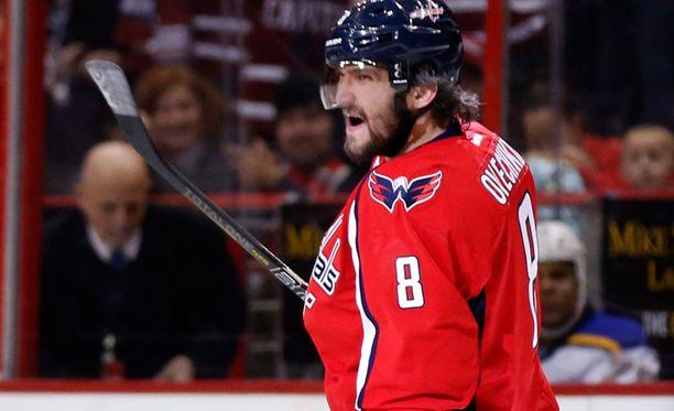 Alex Ovetshkin on NHL:n parhaita maalilinkoja.