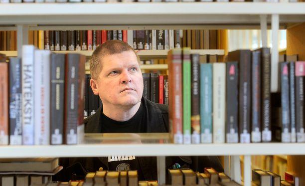 Jarkko Sipilä on tuottelias kirjoittaja.