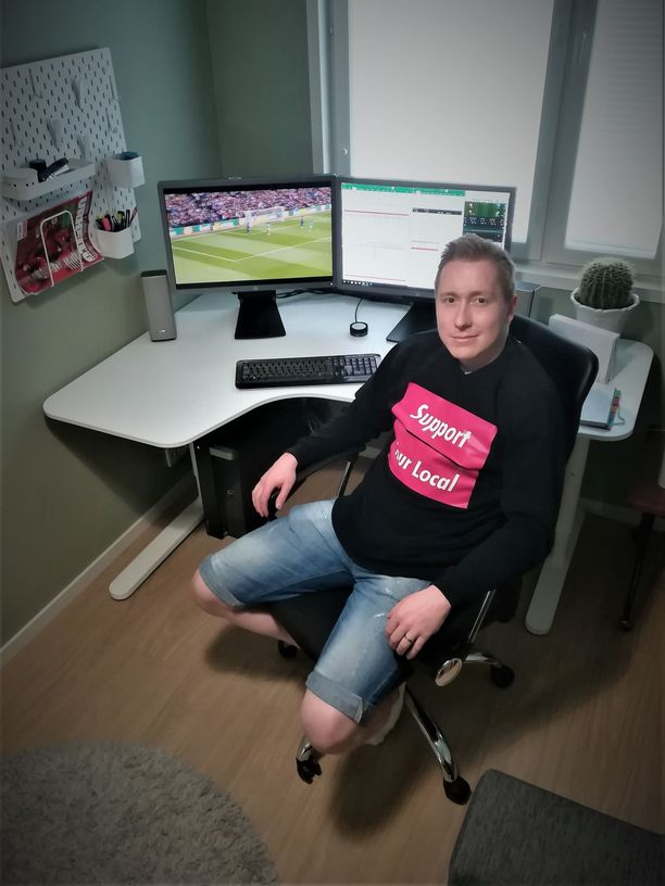 Jani Heikkinen, 31, myöntää, että pitkät tappioputket koettelevat vedonlyönnin ammattilaistakin henkisesti.