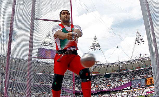 Kaveh Mousavi edusti maataan myös vuoden 2012 olympialaisissa.