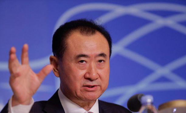 Kiinalaismiljardööri Wang Jianlin lukeutuu maailman rikkaimpiin ihmisiin.