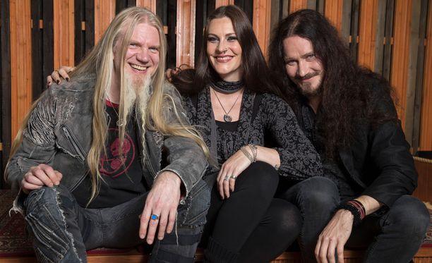 Nightwishin maailmankiertue tekee kesällä kaksi stoppia Suomen lavoilla.