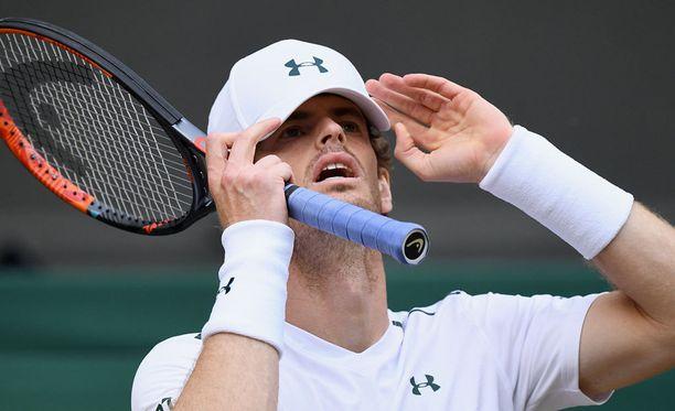 Andy Murrayn pelit päättyivät puolivälierissä.