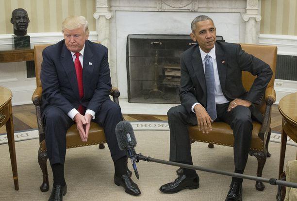 Barack Obama varoitti Donald Trumpia Flynnista heti ensimmäisesä tapaamisessa Valkoisessa talossa viime marraskuussa.