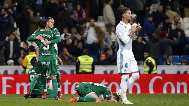 Santiago Bernabéu palkitsi tammikuisen Leganés-tappion valtavalla vihellyskonsertilla.