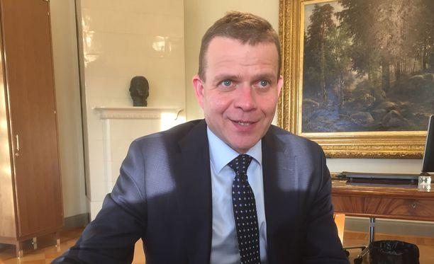 Valtiovarainministeri Petteri Orpo myi hallussaan olleet Talvivaara-osakkeet 65 eurolla helmikuussa 2017.