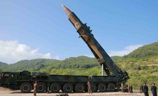 Uutiskanava CNN:N mukaan Yhdysvallat alkaa uskoa, että Pohjois-Korean tuorein ohjuskoe on todennäköisesti mannertenvälinen ohjus. Kuvituskuva