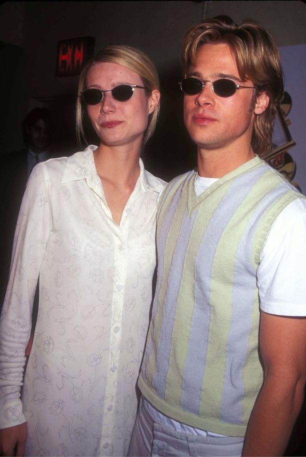 Ysärin huippupari Gwyneth Paltrow ja Brad Pitt näyttävät mallia, kuinka imitoida omaa kumppania.