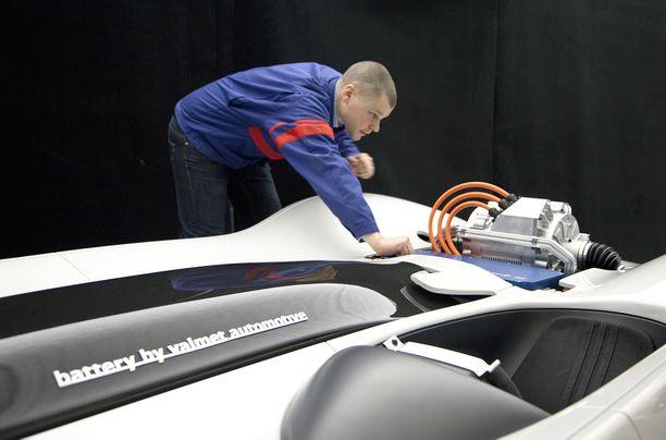 Valmet Automotive on tosissaan mukana sähköautojen akkutarjonnassa.