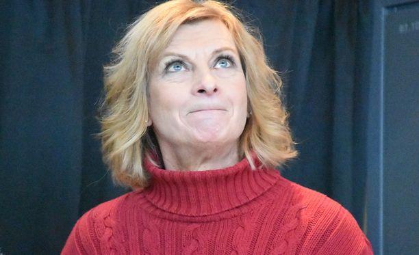 Marja-Liisa Kirvesniemi voi nykyään hyvin.