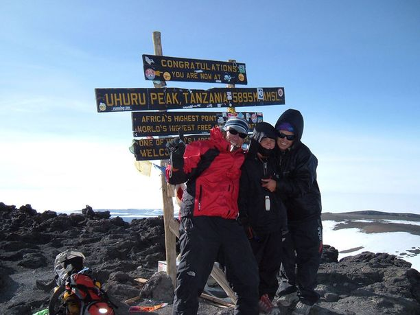 Tästä kaikki alkoi! Team Jordan Kilimanjarolla.