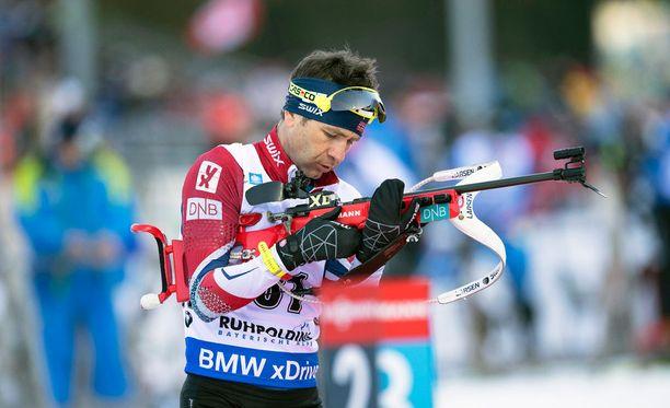 Ole Einar Björndalenia ei valittu olympialaisiin.