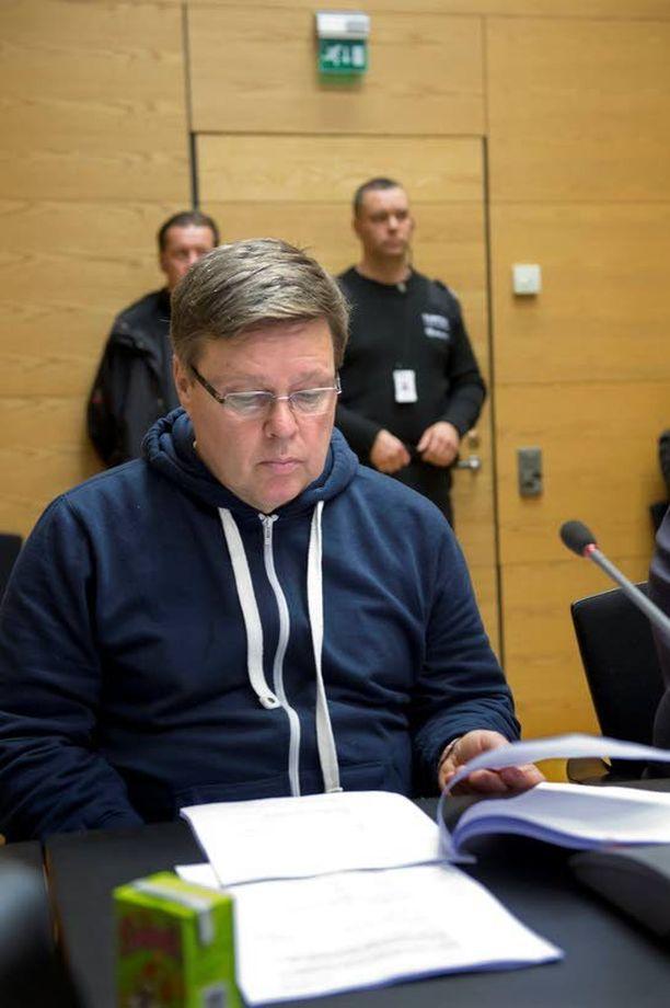Rikosylikomisario Jari Aarnio vangittiin viime vuoden marraskuussa. Aarnio on viettänyt sellissään jo 13 kuukautta.