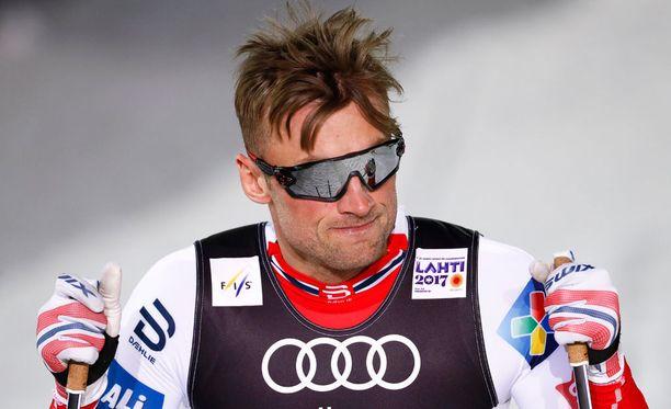 Petter Northug on flunssan kourissa.
