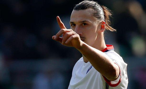 Zlatan Ibrahimovic on pommittanut tällä kaudella PSG:n paidassa 27 maalia Ranskan pääsarjassa.