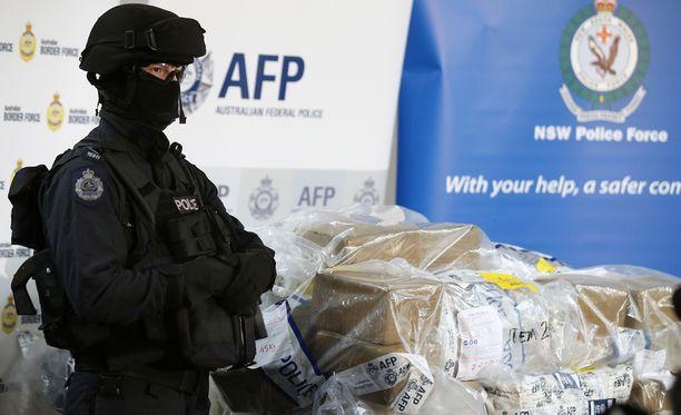 Australiassa tehtiin maan historian suurin huumetakavarikko.