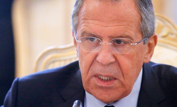 Sergei Lavrovin mukaan Venäjä aikoo jatkossakin toimittaa aseita Syyriaan.