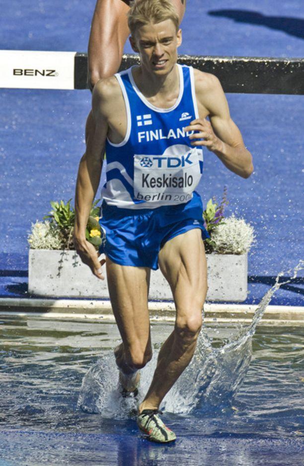 Jukka Keskisalo tekee kaikkensa päästäkseen finaalissa kunnon vireeseen.