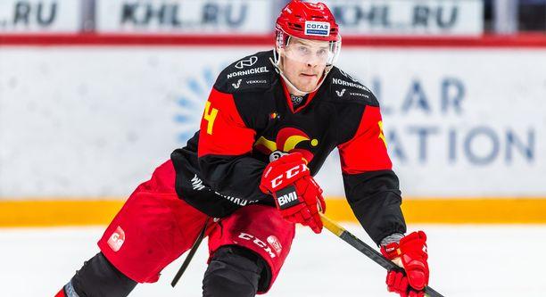 Mikko Lehtonen oli aivan pitelemätön ottelussa Moskovan Dynamoa vastaan.