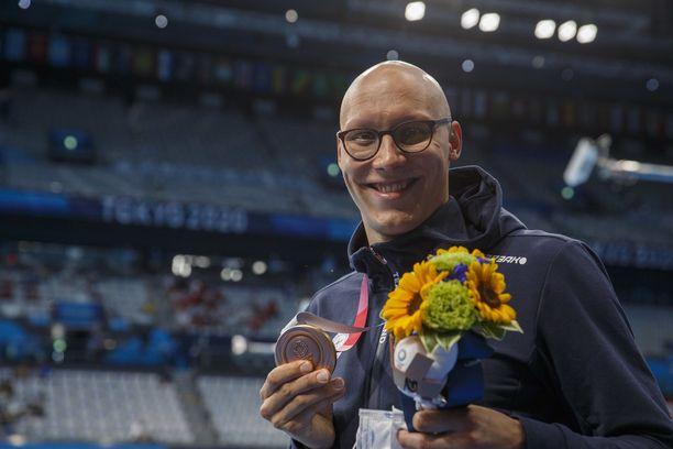 Matti Mattsson voitti uransa ensimmäisen olympiamitalin torstaina.