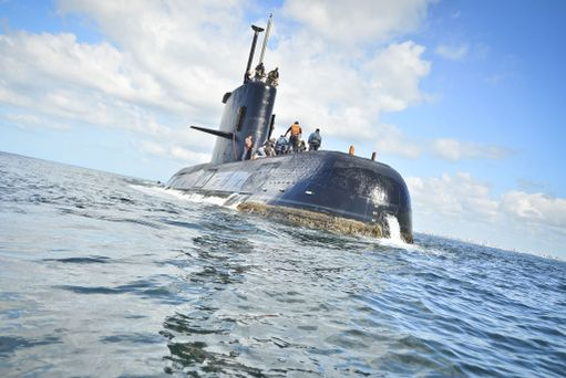 Päiväyksetön Argentiinan laivaston julkaisema valokuva aluksesta.