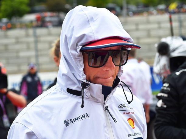 Kimi Räikkönen oli Belgian GP:ssä 16:s.