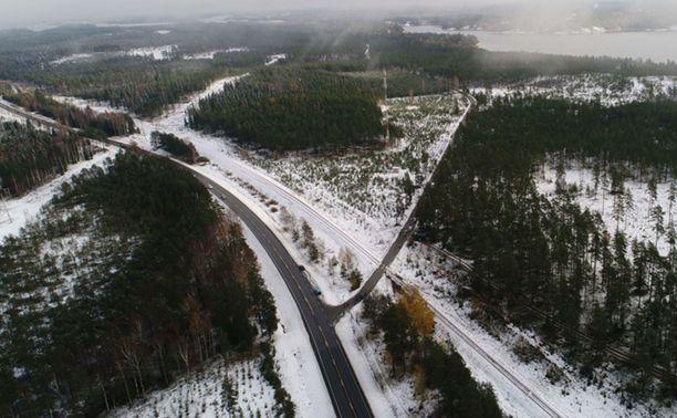 Skogbyn tasoristeyksessä sattuneessa onnettomuudessa tasoristeys oli erityisen vaarallinen radan ja tien kulman vuoksi.
